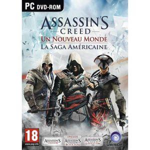 JEU PC Compilation Assassin's Creed Saga Américaine PC