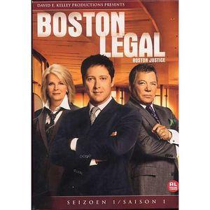 DVD SÉRIE BOSTON JUSTICE Saison 1, L'intégrale 5 DVD