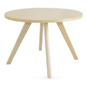Table basse ronde bois achat vente table basse ronde - Table d appoint scandinave metal ...