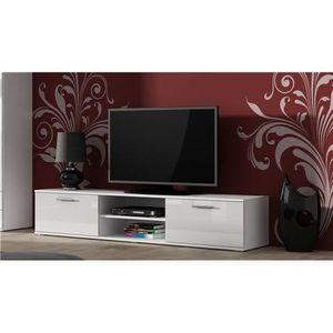 Meuble tv 180cm achat vente meuble tv 180cm pas cher cdiscount - Tele 150 cm pas cher ...