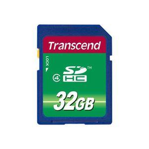 CARTE MÉMOIRE TRANSCEND - TS32GSDHC4