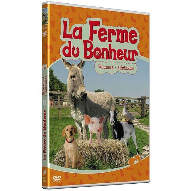 Dvd la ferme du bonheur vol 4 en dvd film pas cher for Meuble dvd ferme