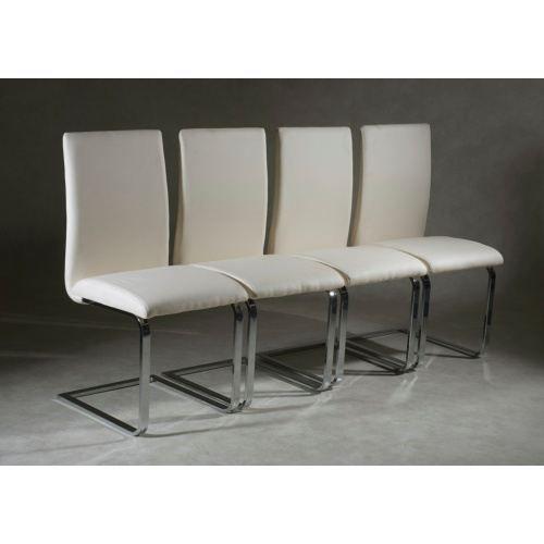Mobilier table chaises en cuir design - Chaise en cuir design ...