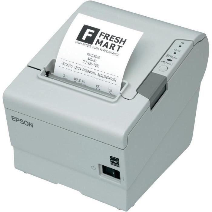 imprimante pour tickets de caisse epson tm t88v achat vente imprimante tickets imprimante. Black Bedroom Furniture Sets. Home Design Ideas