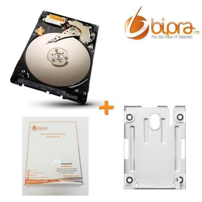 bipra sony ps3 750go 750 go kit support de disque dur caddy berceau pour super slim 12go achat. Black Bedroom Furniture Sets. Home Design Ideas