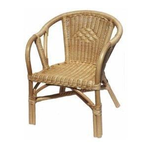 Fauteuil en rotin edgar anglais achat vente fauteuil for Meuble edgar