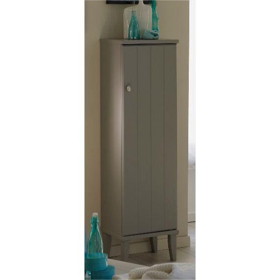 Colonne laque gris poivre mat olive l 40 cm achat for Colonne de salle de bain 40 cm