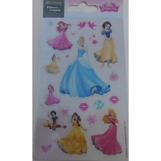 Stickers disney princesses pour ordinateurs consoles - Ordinateur princesse ...