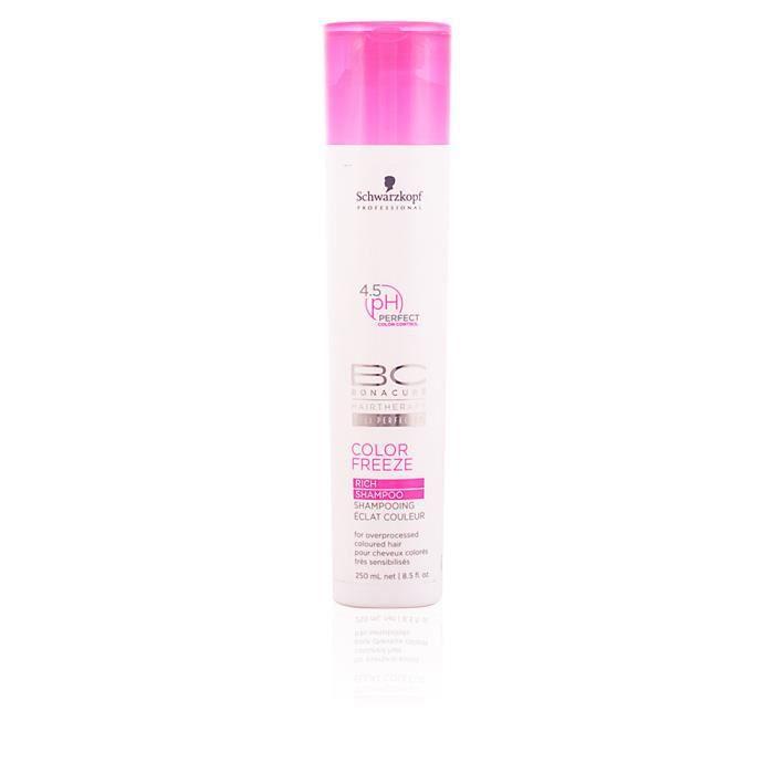 schwarzkopf bc color freeze rich shampoo shampooing enrichi soins intensifs pour les cheveux colors off efficace mais nettoyer e - Shampoing Schwarzkopf Cheveux Colors