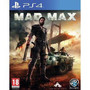 JEU PS4 Mad Max Jeu PS4