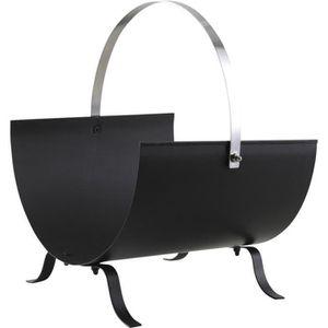 panier a buche metal achat vente panier a buche metal. Black Bedroom Furniture Sets. Home Design Ideas