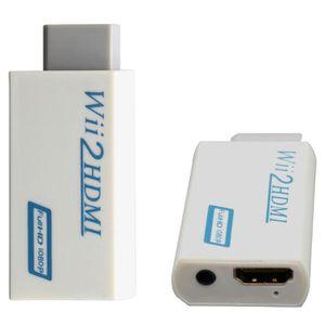 AMPLI HOME CINÉMA Wii HDMI Wii2HDMI Adapter Converter Full HD 1080P
