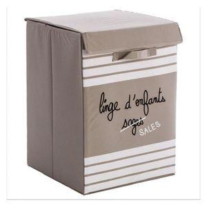 panier a linge enfant achat vente panier a linge enfant pas cher les soldes sur cdiscount. Black Bedroom Furniture Sets. Home Design Ideas