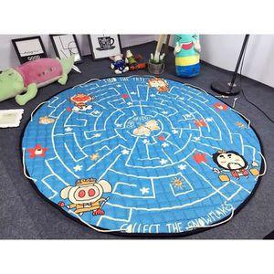 sac de rangement tapis de jouet achat vente sac de rangement tapis de jouet pas cher cdiscount. Black Bedroom Furniture Sets. Home Design Ideas