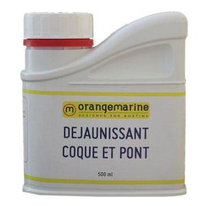 ENTRETIEN DU PONT Déjaunissant coque et pont bateau Orangemarine 0.5