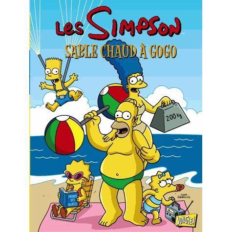 Les simpson tome 21 achat vente livre matt groening jungle parution 12 04 2013 pas cher - Bande dessinee simpson ...