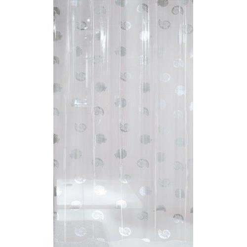 kleine wolke 5099116305 shelley rideau de douche transparent 180 x 200 cm achat vente rideau. Black Bedroom Furniture Sets. Home Design Ideas