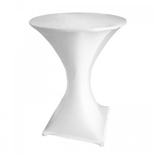 Table haute bar pliante mange debout nappe achat for Nappe pour grande table