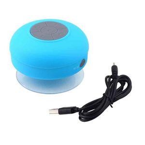 Enceintes sans fil bluetooth moonar achat vente pas cher soldes cdiscount - Enceinte bluetooth douche ...