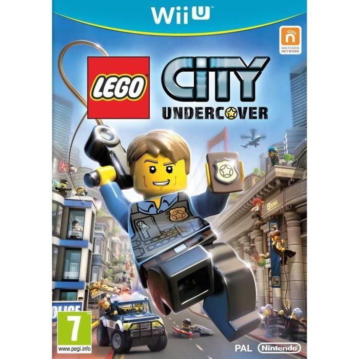 JEUX WII U LEGO City Undercover Jeu Wii U