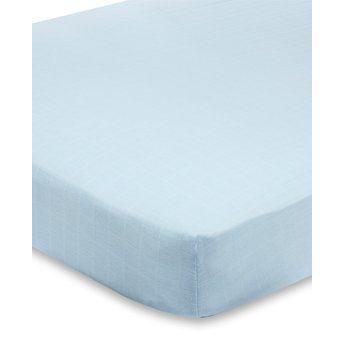 aden anais 8602g drap housse solid blue achat vente drap housse cdiscount