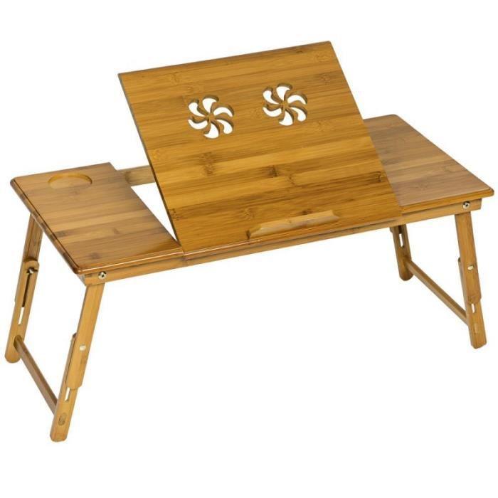 Table de lit pliable pour pc 72x35x26 cm prix pas cher - Table de lit pour pc ...