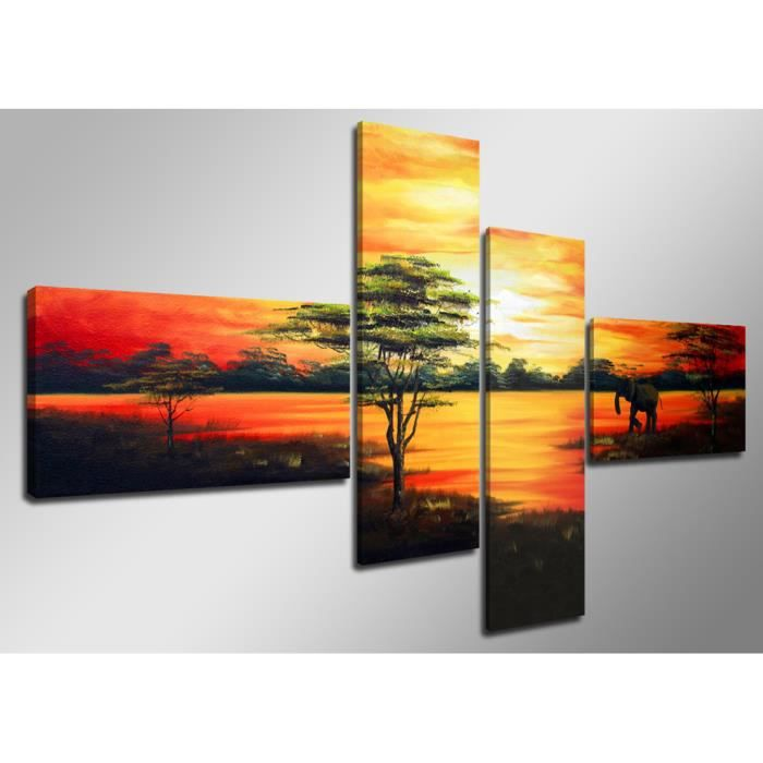 Tableau moderne imprim 160x70 cm paysage achat vente tableau toile t - Vente tableau moderne ...