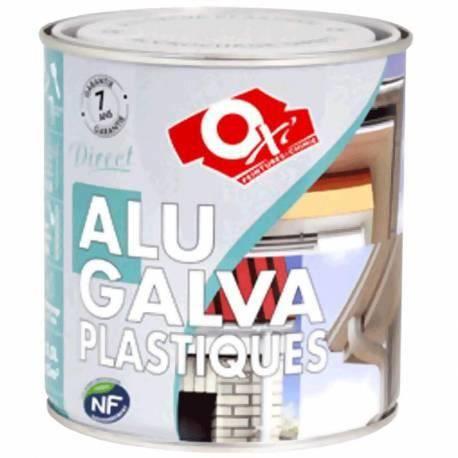 Peinture pour supports alu galva plastique 1 achat for Peinture pour table plastique