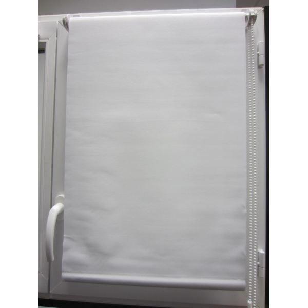 Store enrouleur tamisant 60x90cm blanc achat vente for Store enrouleur occultant fenetre pvc