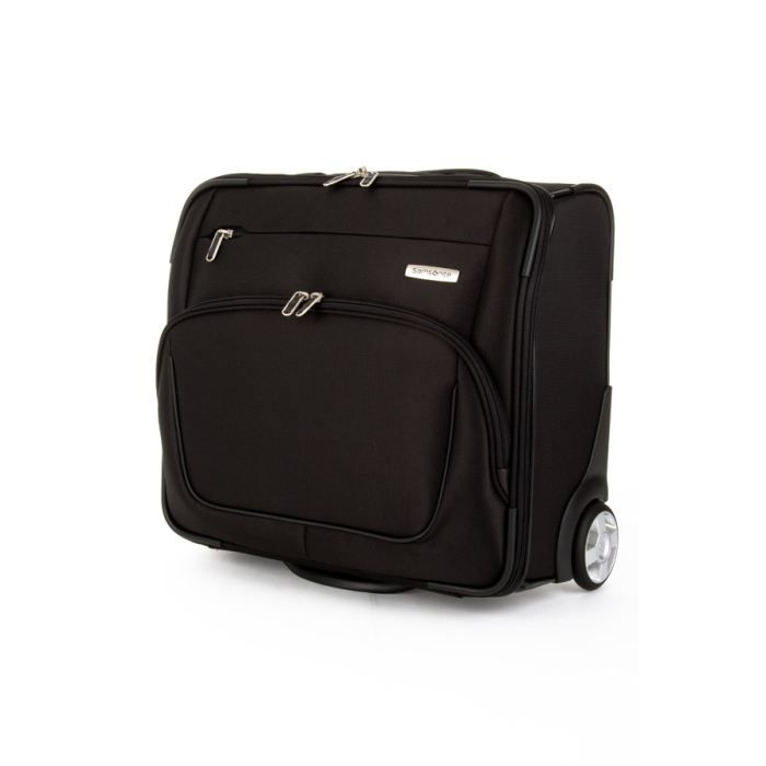 samsonite pilot case trolley souple x pression noir achat vente valise bagage. Black Bedroom Furniture Sets. Home Design Ideas