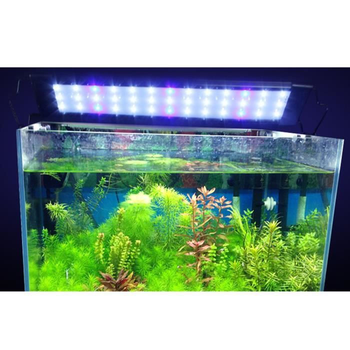 1pcs led r 233 servoir de poissons d eau douce lumi 232 re d aquarium haut lumen lumi 232 re suitable pour l