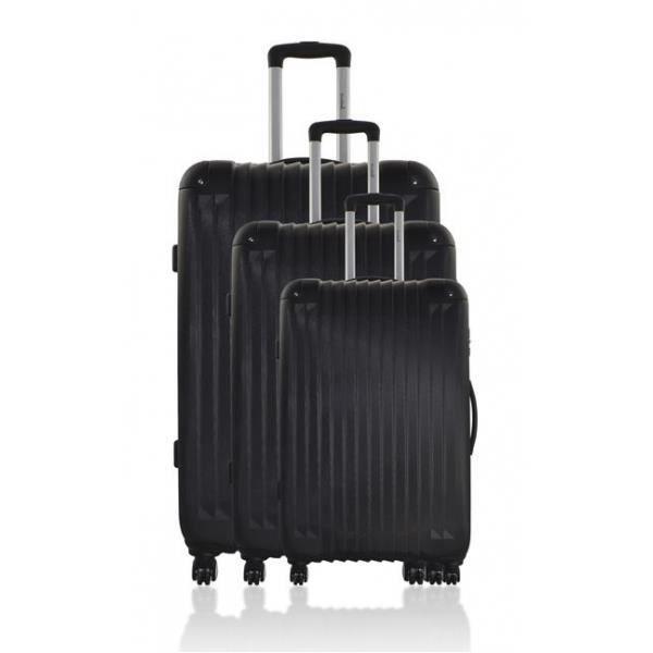set de 3 valises 4 roues bluestar achat vente set de valises 2009953120597 cdiscount. Black Bedroom Furniture Sets. Home Design Ideas