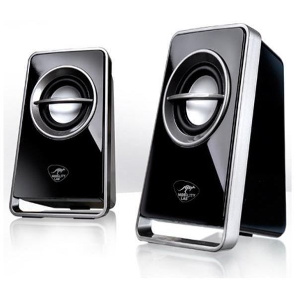 haut parleurs 2 0 v510 noir prix pas cher cdiscount. Black Bedroom Furniture Sets. Home Design Ideas