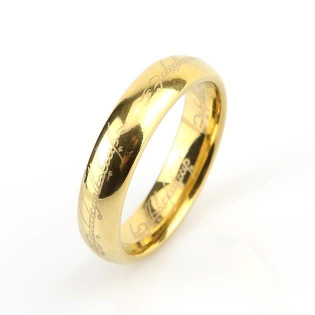 Bague anneau mélange de carbures et de tungstène avec une gravure en ...