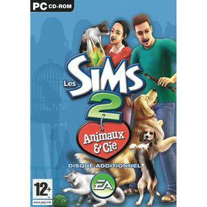JEU PC LES SIMS 2: ANIMAUX & CIE / Jeu PC