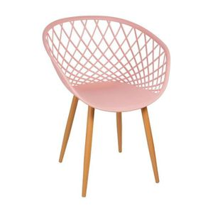 CHAISE Chaise ZINA rose