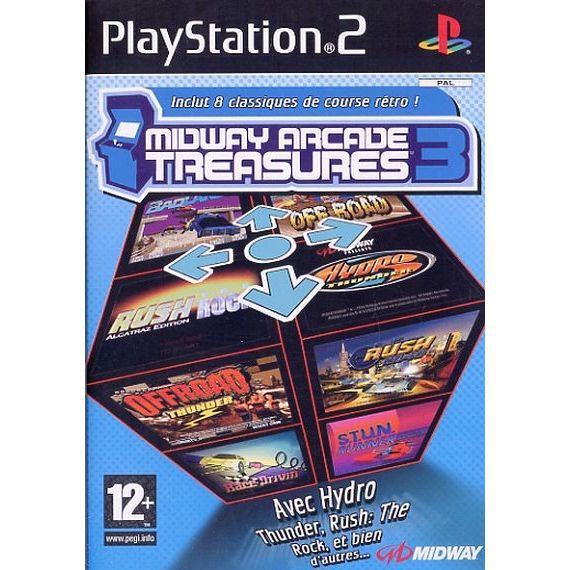 JEUX PS2 MIDWAY ARCADE TREASURES 3