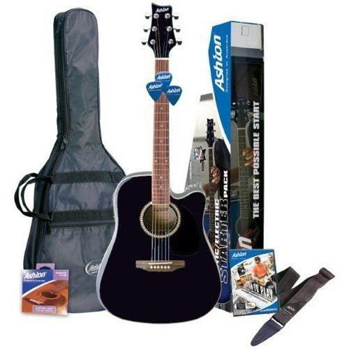 ashton spd25ceqbk guitare lectro acoustique avec. Black Bedroom Furniture Sets. Home Design Ideas