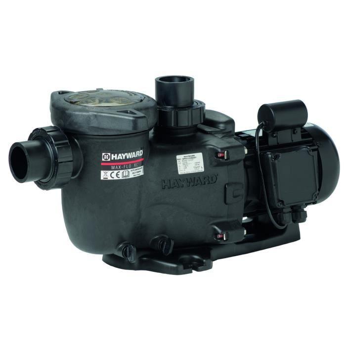 pompe max flo xl hayward  1 5 cv tri    vente filtration de l u0026 39 eau pompe max flo xl