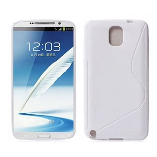 Coque gel silicone s line samsung galaxy note 3 n o lite - Difference entre note 3 et note 3 lite ...