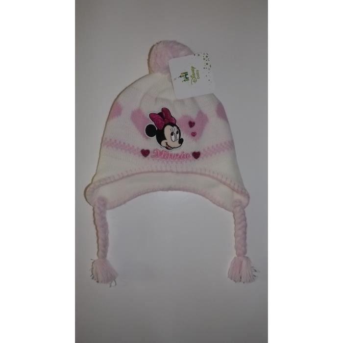 Bonnet Péruvien bébé Minnie Rose Rose Achat / Vente bonnet