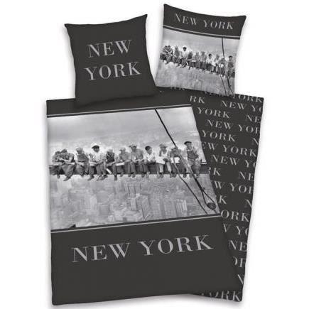 Ouvriers de new york parure de lit reversible achat vente parure de cou - Achat maison new york ...