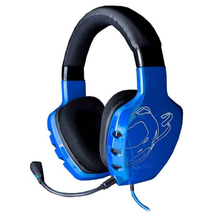 ozone rage st bleu casque micro pour gamer casque couteur audio avis et prix pas cher. Black Bedroom Furniture Sets. Home Design Ideas