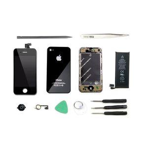 kit reparation ecran iphone 4 noir achat vente kit. Black Bedroom Furniture Sets. Home Design Ideas