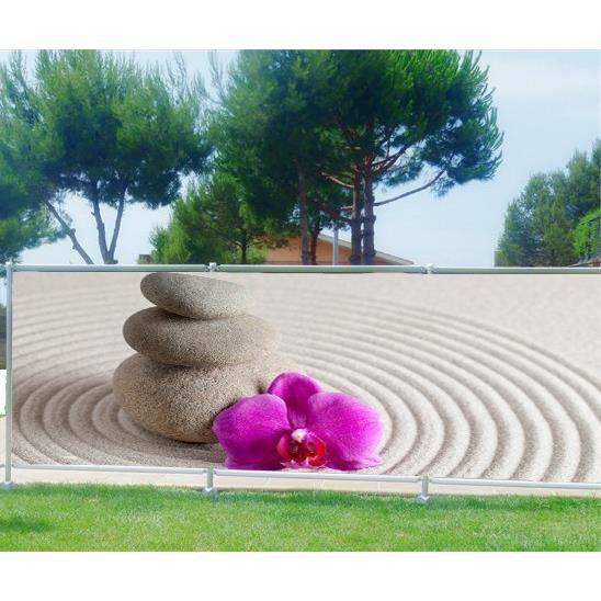 Brise vue jardin terrasse balcon d co galets achat for Decoration de jardin avec des galets