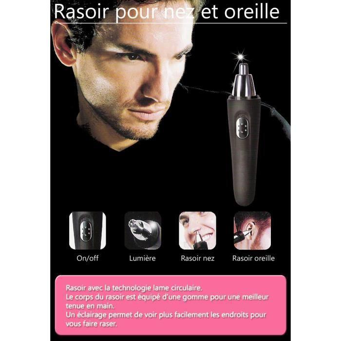 rasoir electrique pour nez et oreilles achat vente tondeuse multi usages cdiscount. Black Bedroom Furniture Sets. Home Design Ideas