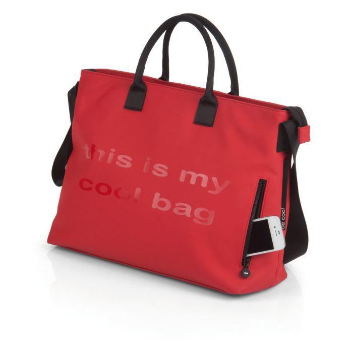 sac langer mamma bag rouge nurse rouge achat vente. Black Bedroom Furniture Sets. Home Design Ideas