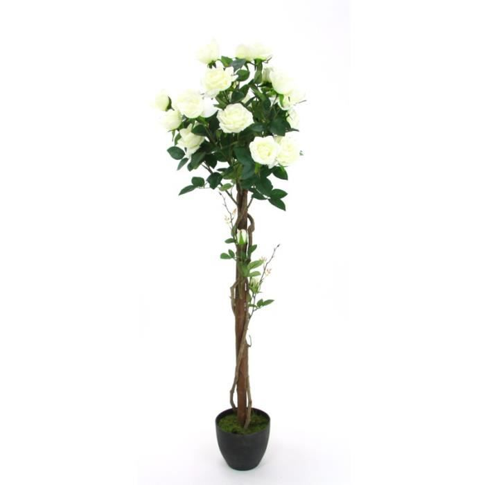 Paris prix plante artificielle rosier 130cm achat for Plante artificielle prix
