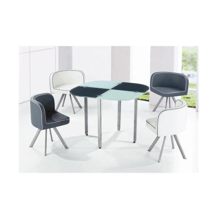 table a manger 4 chaises maison design. Black Bedroom Furniture Sets. Home Design Ideas
