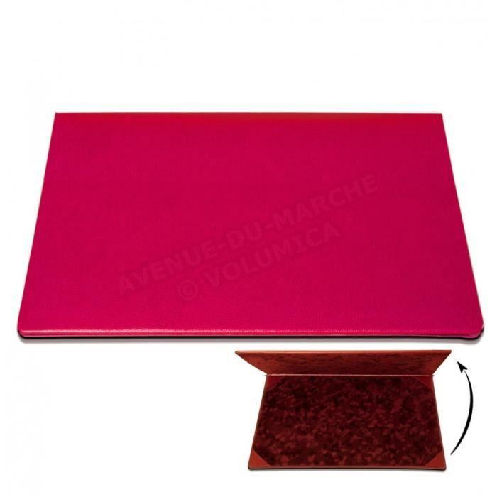 sous main rabat cuir rose fuchsia achat vente sous main rabat cuir ros cadeaux de. Black Bedroom Furniture Sets. Home Design Ideas